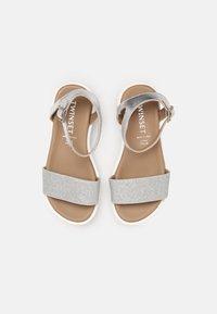 TWINSET - GLITTER - Sandals - argento - 3