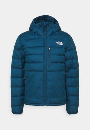 ACONCAGUA HOODIE - Down jacket - monterey blue/white