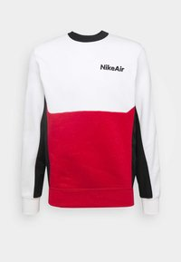 white/university red/black