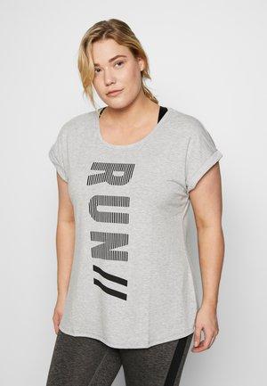 ALAVENDER - Teamwear - light grey melange/run black