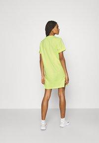 adidas Originals - TEE DRESS - Jersey dress - pulse yellow - 2