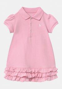 Polo Ralph Lauren - SOLID RUFFLE SET - Jersey dress - carmel pink - 0