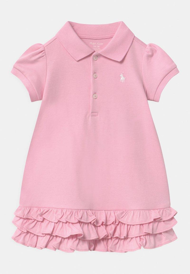 Polo Ralph Lauren - SOLID RUFFLE SET - Jersey dress - carmel pink