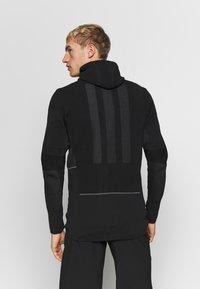adidas Performance - MID LAYER - Mikina na zip - black - 2