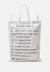 MM6 Maison Margiela - BORSA - Tote bag - white - 2