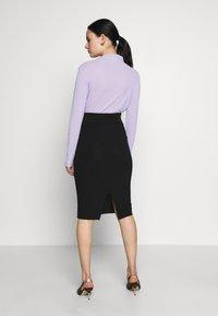 Selected Femme - SLFMARGE SKIRT - Pouzdrová sukně - black - 2