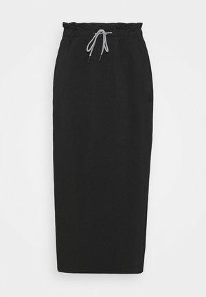 INFUSE SKIRT - Falda larga - puma black