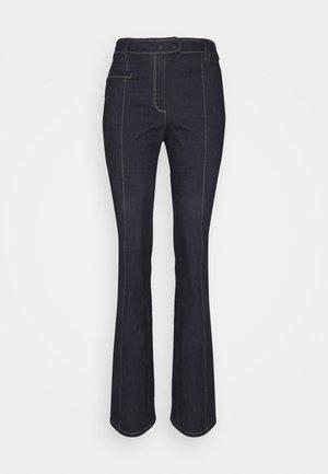 LONG KIRIM PANT - Široké džíny - indigo