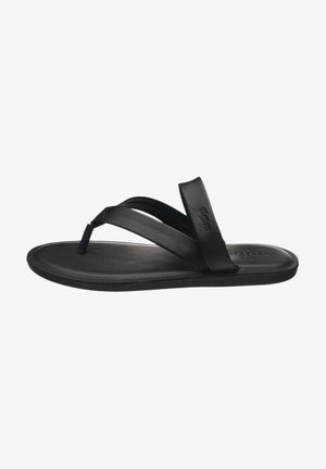 JOSUA - T-bar sandals - black