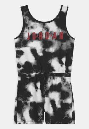 JORDAN GIRL TIE DYE  - Tuta jumpsuit - black