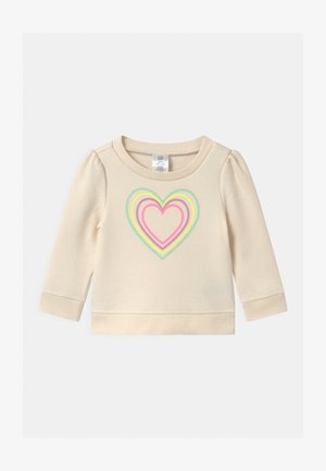 TODDLER GIRL DOORBUSTER ACTIVE - Sudadera - ivory frost