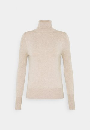 ONLVENICE ROLLNECK - Jersey de punto - whitecap gray/melange