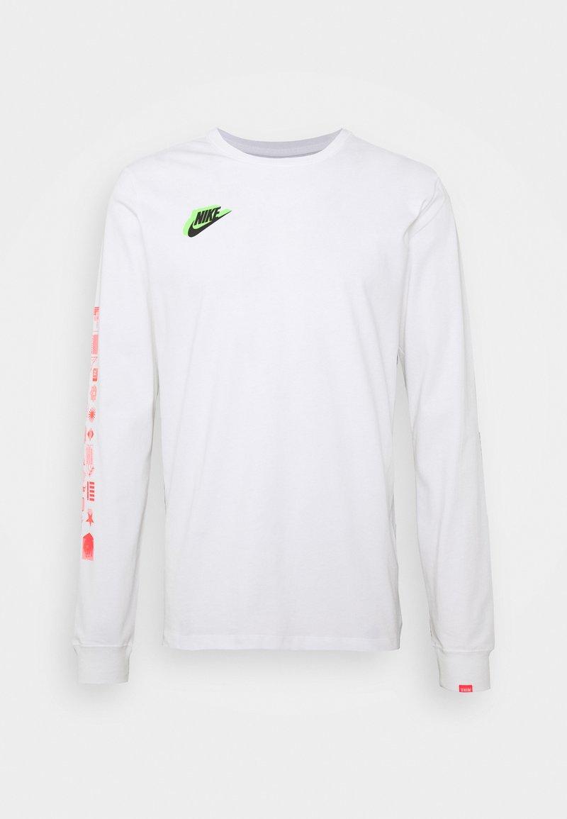 Nike Sportswear - WORLDWIDE - Bluzka z długim rękawem - white