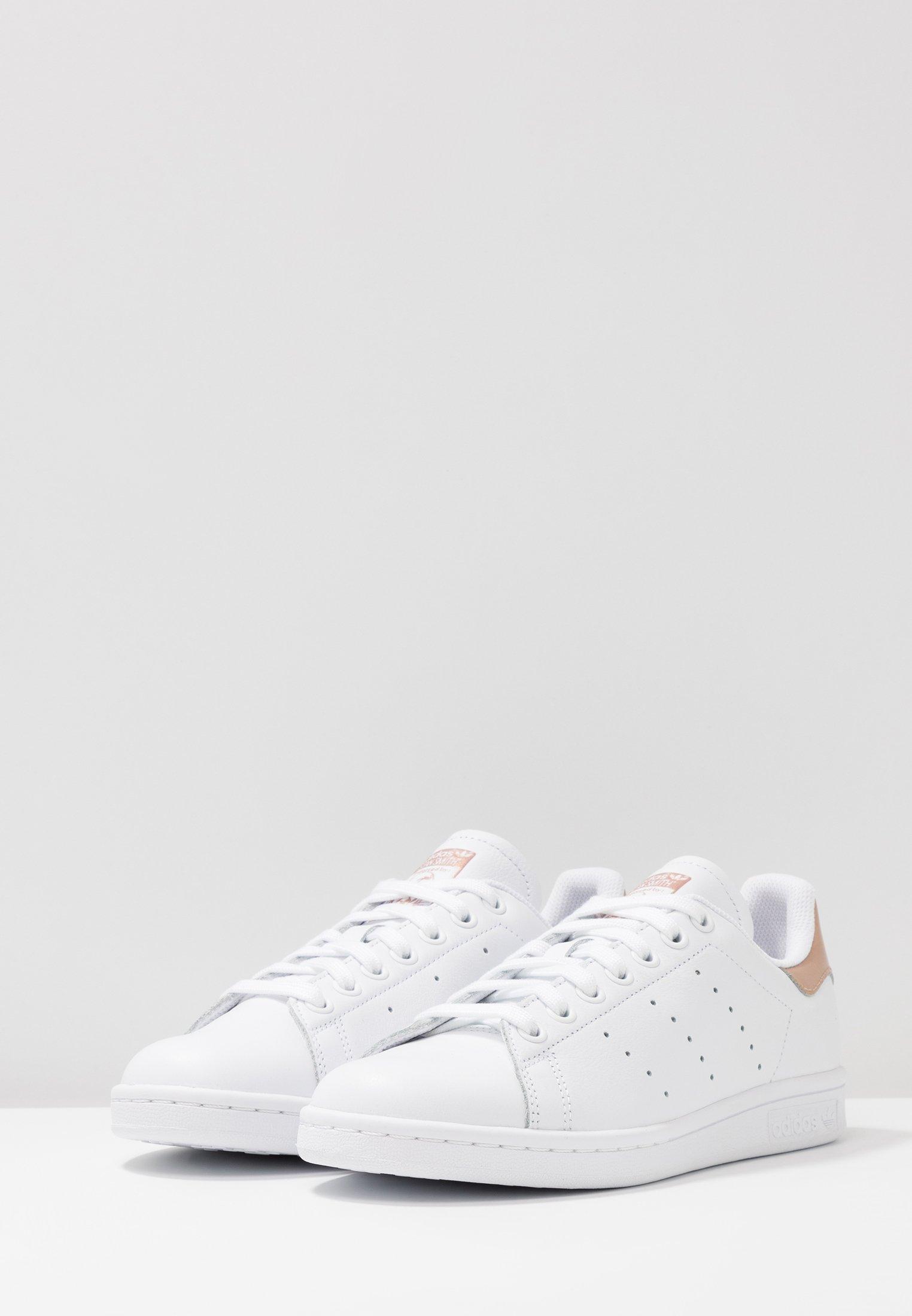 Adidas Originals Stan Smith - Sneaker Low Footwear White/rose Gold Metallic/weiß
