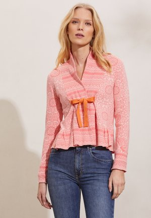 NANCY - Cardigan - living coral