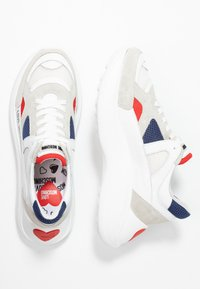 Love Moschino - Trainers - white - 3