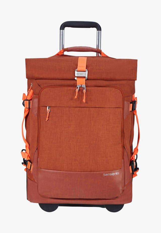 ZIPROLL - Luggage - burnt orange