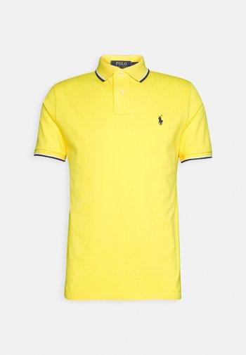 SHORT SLEEVE - Polo - yellow