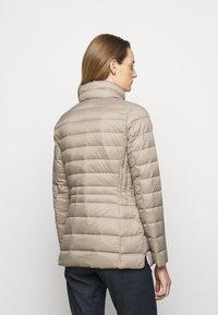 Lauren Ralph Lauren - SOFT COMBO MIXED QUILTS - Down jacket - taupe - 2