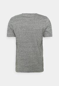 Les Petits Basics - T'ES BEAU T'ES BELLE UNISEX - Print T-shirt - slub heather grey - 1