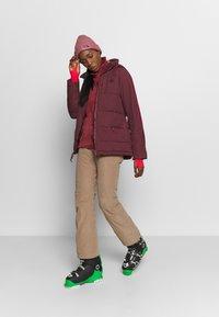 Burton - KEELAN - Snowboard jacket - dark red - 1