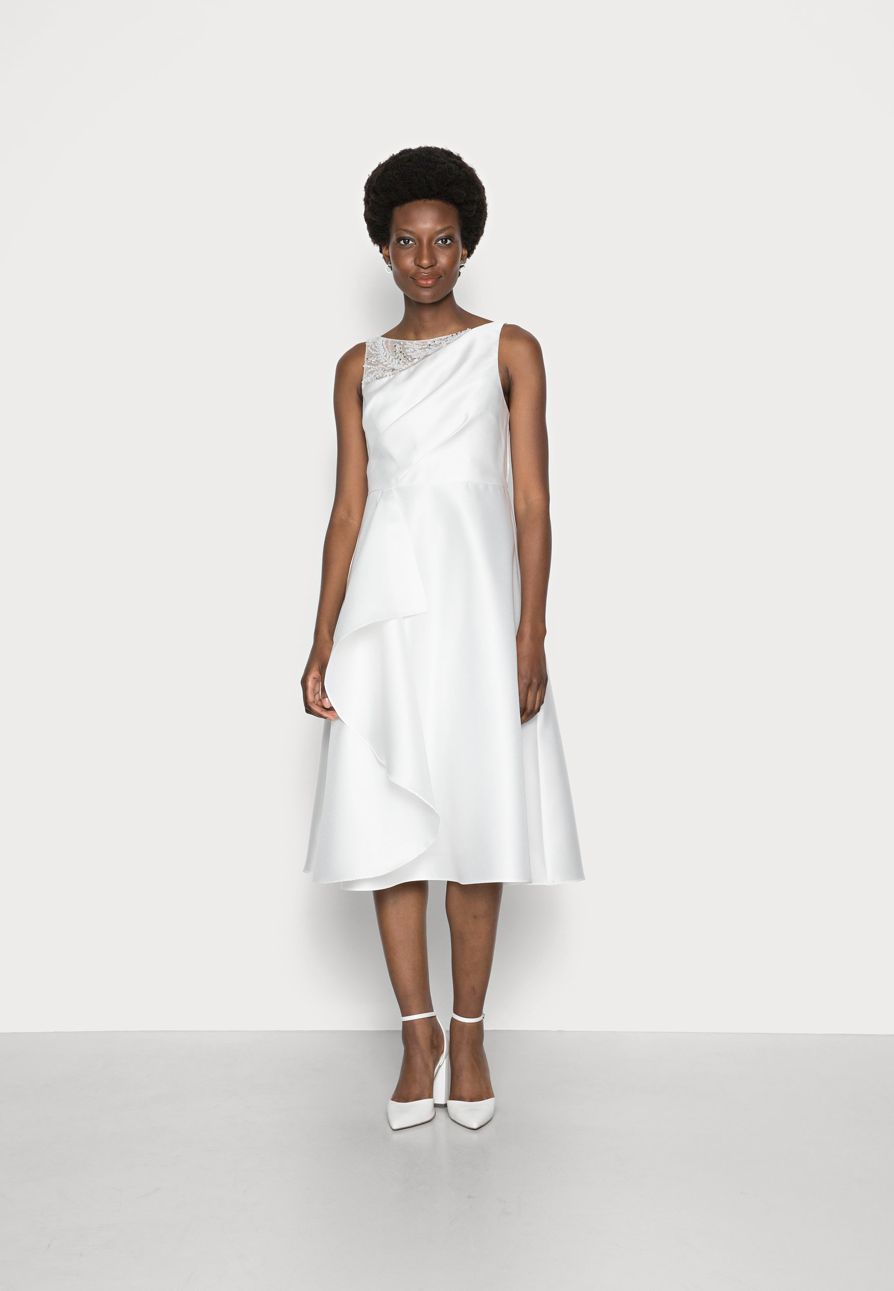 Women MIKADO MIDI DRESS - Cocktail dress / Party dress