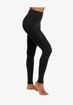 Leggings - Trousers - anthrazit melange
