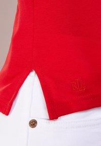 Lauren Ralph Lauren - Basic T-shirt - lipstick red - 4