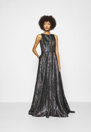 STYLE - Vestido de fiesta - black/silver