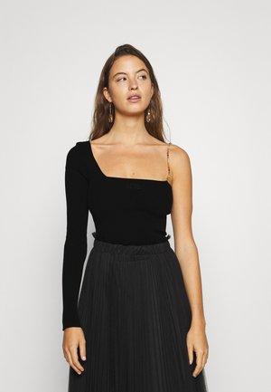 BLING - Long sleeved top - black
