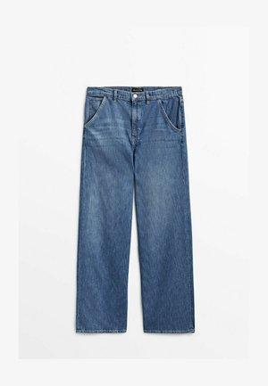 Jeansy Relaxed Fit - dark blue