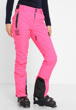 NEW SNOW PANT - Snow pants - acid pink