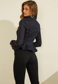 Guess - VOLANTS - Denim jacket - dunkelblau - 1