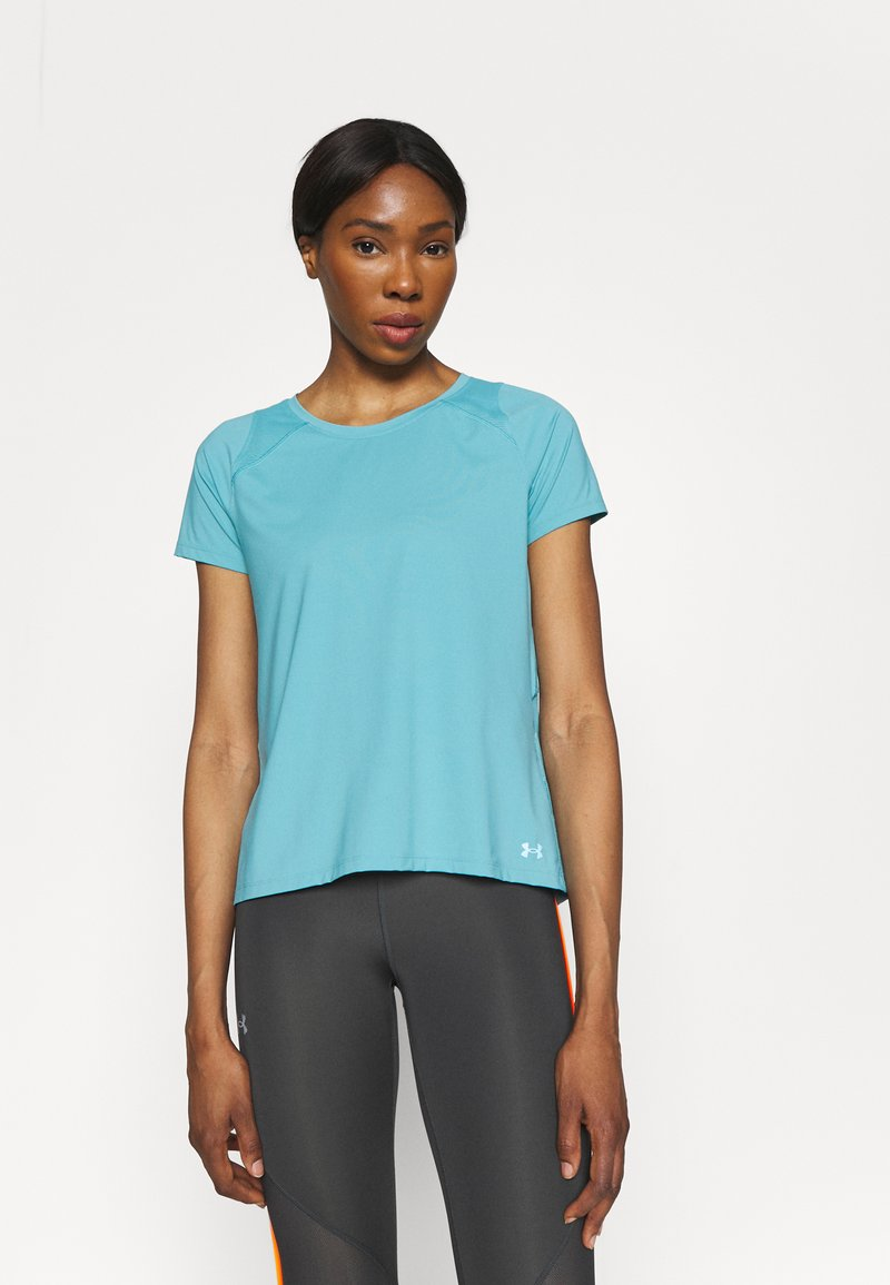 Under Armour - ISO CHILL RUN  - Print T-shirt - cosmos