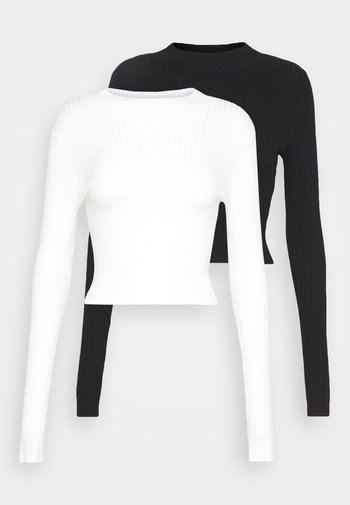 2 PACK- CROPPED JUMPER