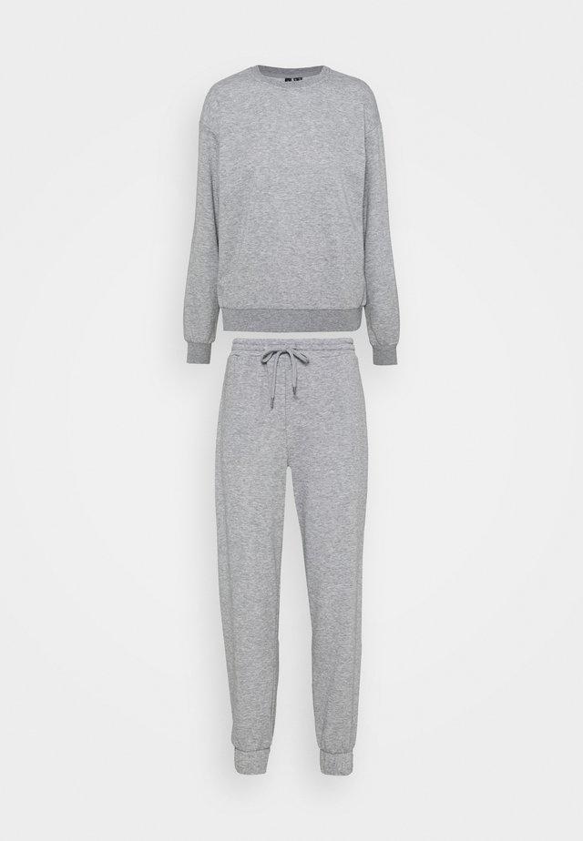 VMNATALIA SET - Sweatshirt - light grey melange