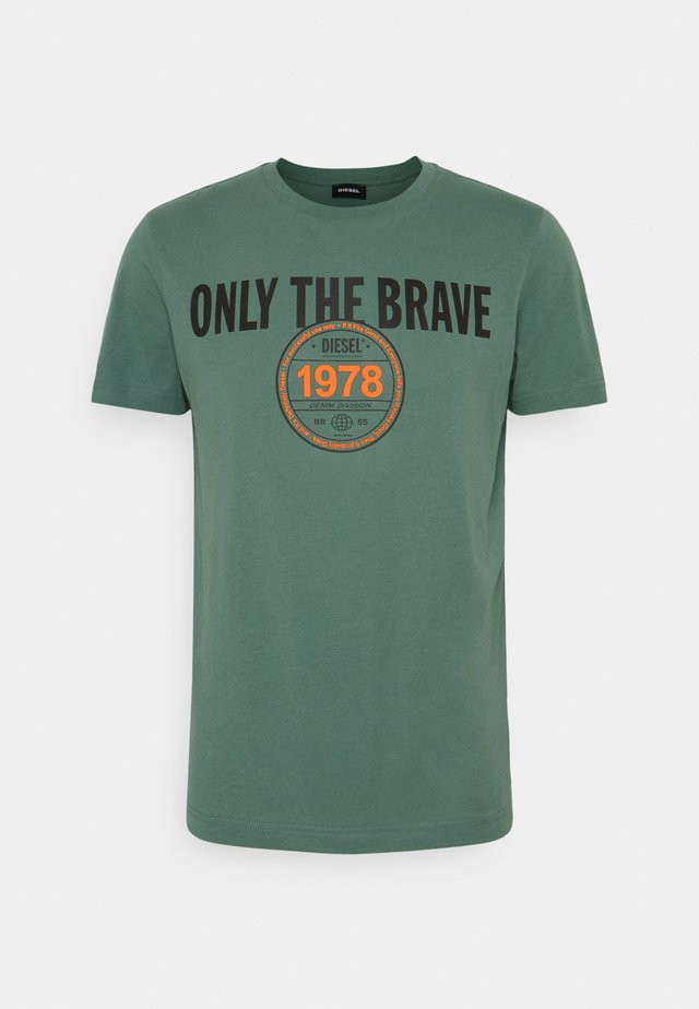 T-DIEGOS-K35 - T-shirts med print - turquoise