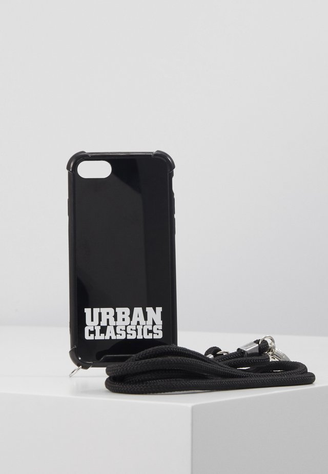 PHONECASE WITH REMOVABLE NECKLACE - Phone case - black