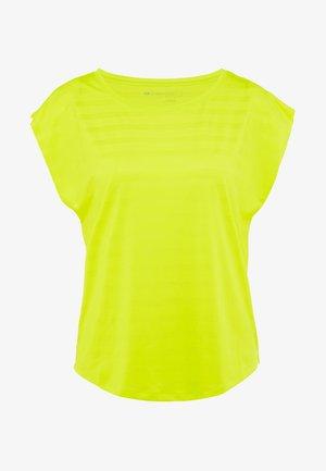 Camiseta estampada - light yellow