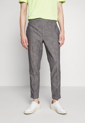 Trousers - smoked pearl grey