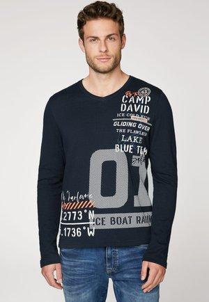 AUTUMN - Sweatshirt - blue navy