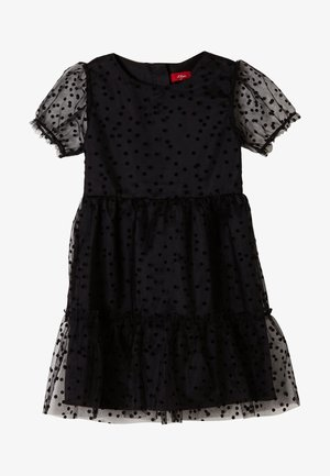 Cocktail dress / Party dress - black dots