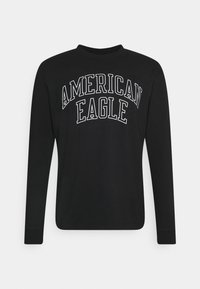 American Eagle - TEE - Long sleeved top - black - 0