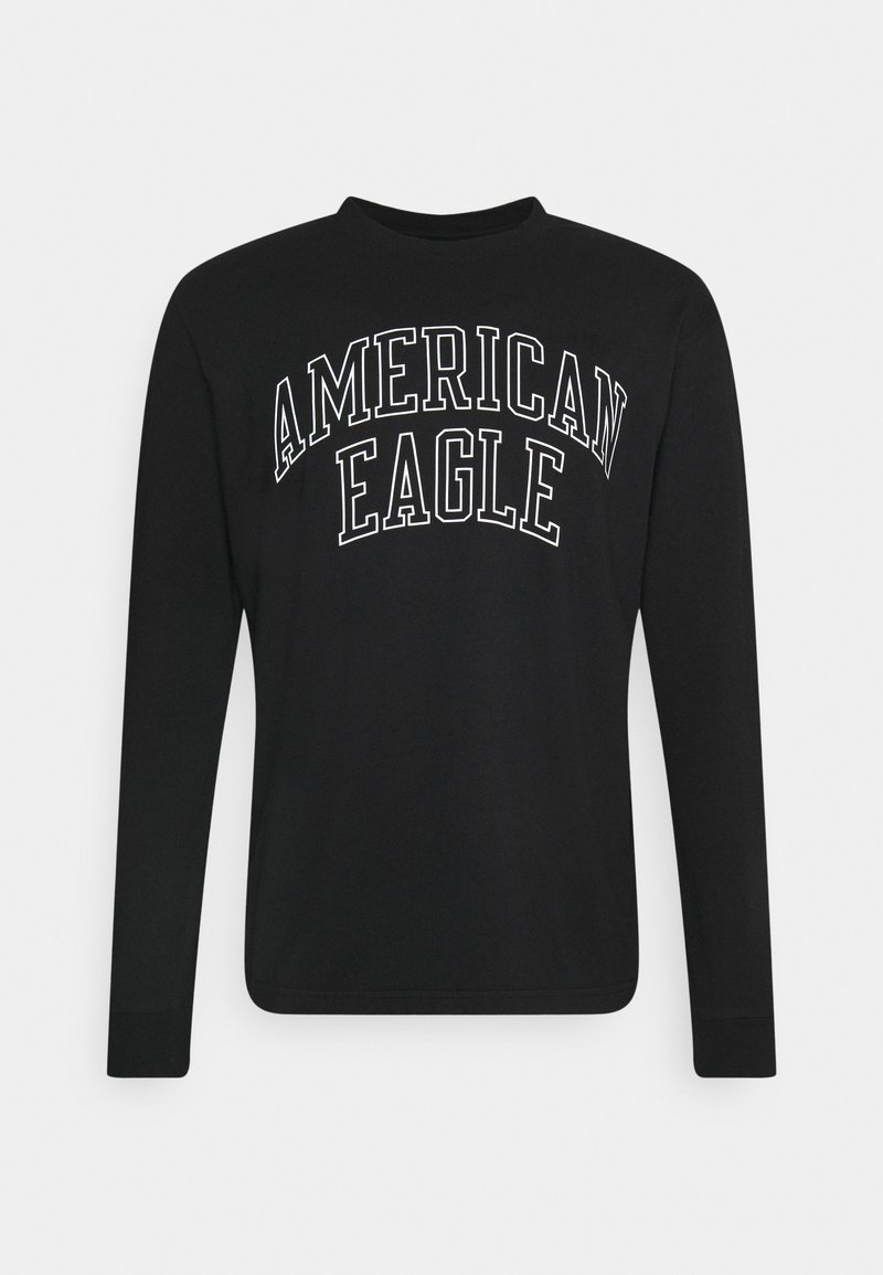 American Eagle - TEE - Long sleeved top - black