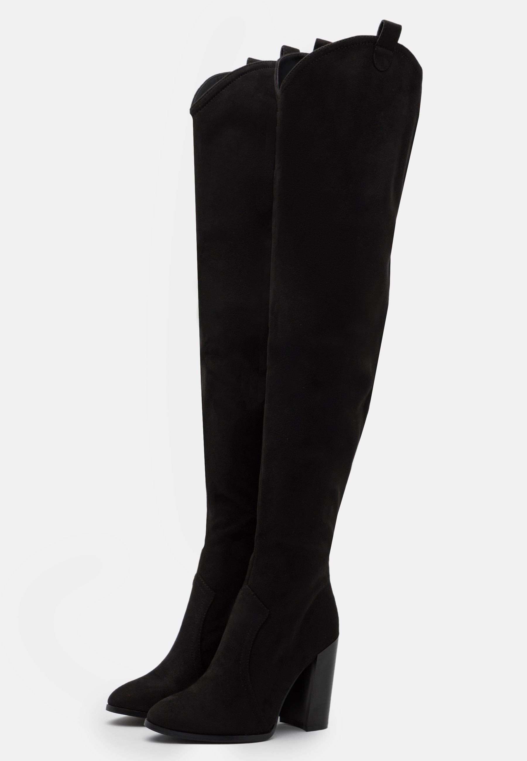 Even&Odd High Heel Stiefel black/schwarz