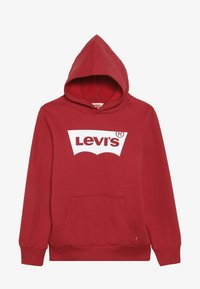 Levi's® - BATWING SCREENPRINT HOODIE - Hoodie - red/white - 3