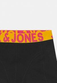 Jack & Jones Junior - JACCRAZY SOLID TRUNKS 3 PACK - Pants - black/navy blazer - 3