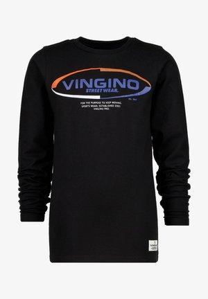JACKLE - Long sleeved top - deep black