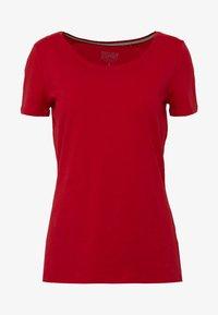 Esprit - CORE  - Basic T-shirt - dark red - 3