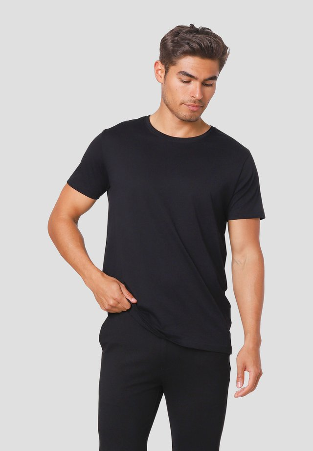 NOAH O - T-shirts basic - black